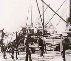 Long Beach Port History Photo